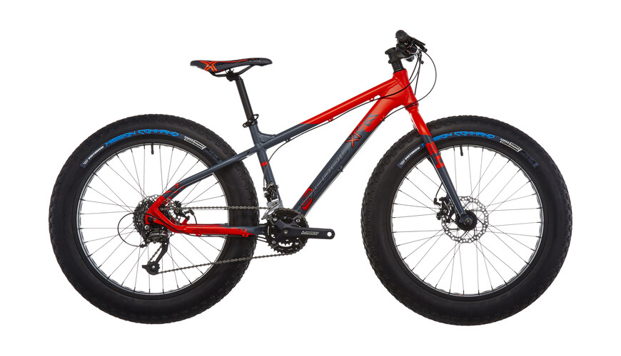 s'cool XTfat 24-18 red/black matt